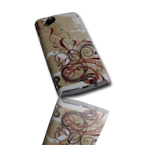 (Set 1) 2er Set Hard Cases Schutzhülle für Sony Ericsson Xperia ARC / ARC S / Handytaschen