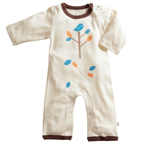Oh-soy Organic Soy Cotton Onepiece - 6-12m Chocolate