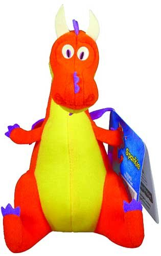 Fisher-Price Mike the Knight: Sparkie Plush