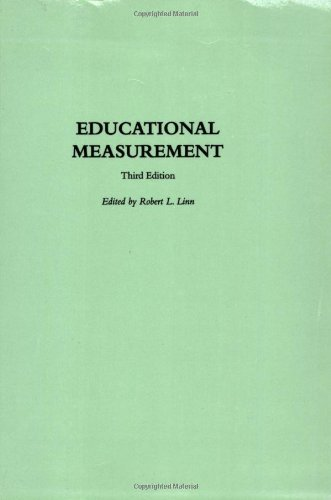 Educational Measurement (American Council On Education/Oryx Series On Higher Education)