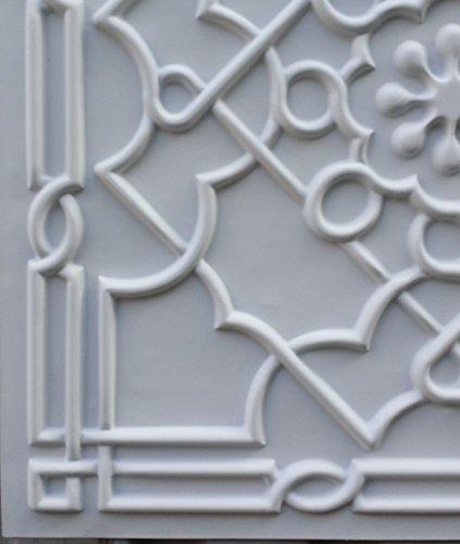 PL09 imitation boîte 3D dalles de plafond Blanc mat Fond gaufré photosgraphie Panneaux muraux décoratifs 10pieces/lot