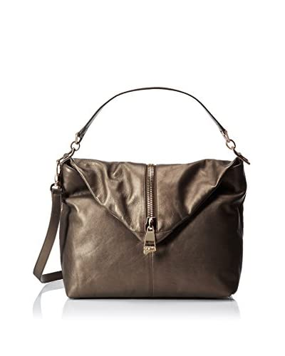Versace Collection Women's Leather Hobo, Olive