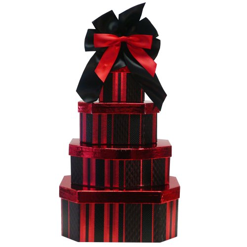 Deluxe Indulgence All Chocolate Gift Tower Art of Appreciation Gift Baskets B00021OPO4
