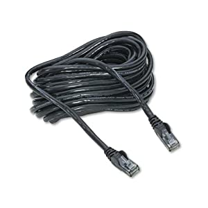 Belkin High Performance CAT6 UTP Patch Cable, 25 ft., Black from Belkin Components