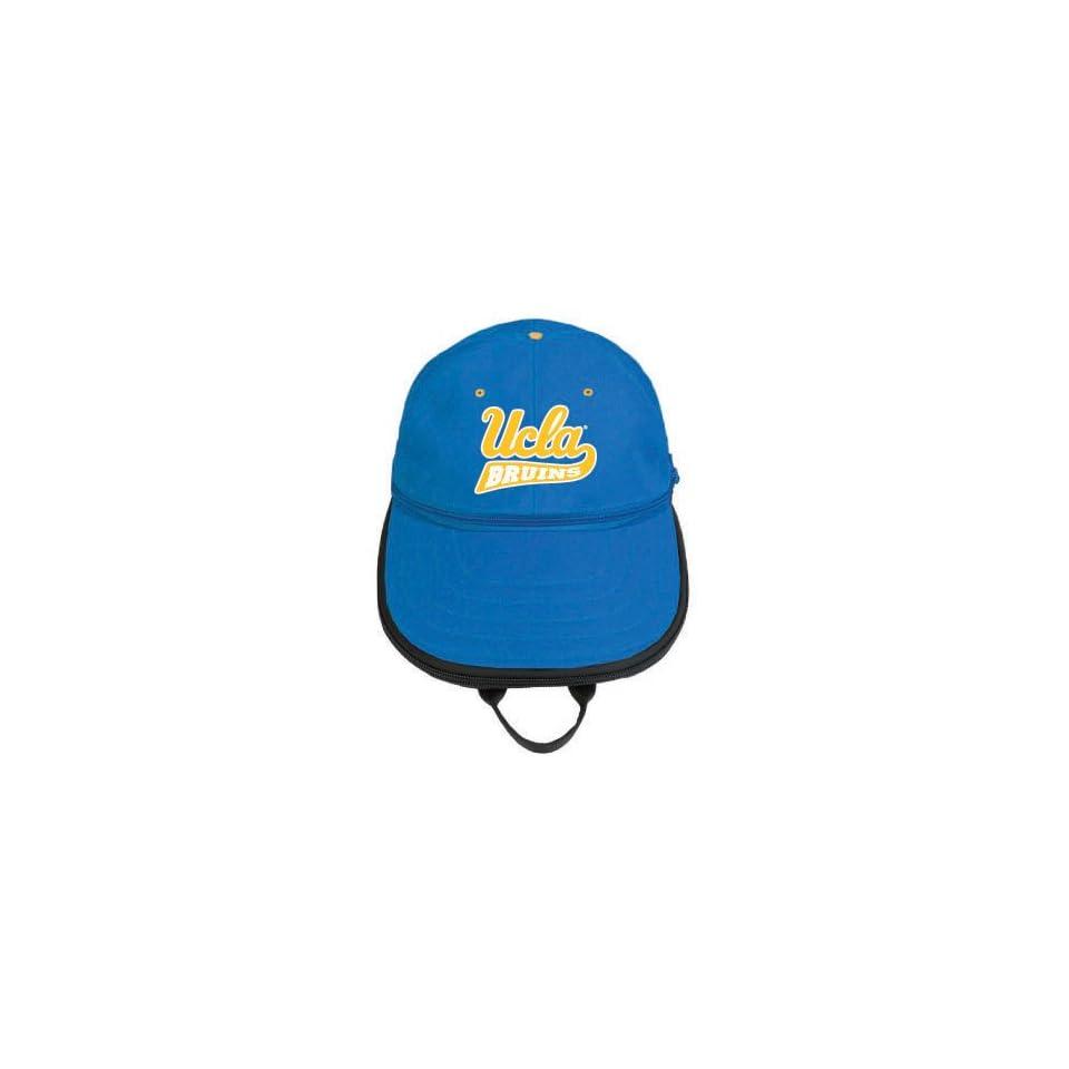UCLA Bruins Expandable Baseball Cap Shape Backpack on PopScreen