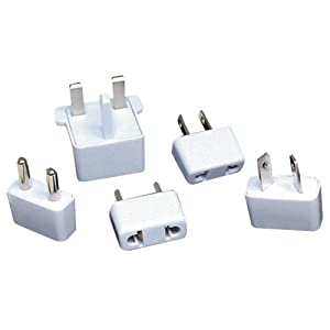 Lenmar AC5 5-Piece International AC Plug Converter Set