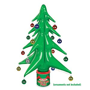 #!Cheap Accoutrements Inflatable Christmas Tree