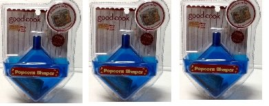 Popcorn Shaper ~ Make Popcorn Cubes, Blocks, Rice Krispie Treats & More! (3 Shapers) (Popcorn Cube compare prices)