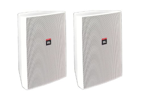 Jbl Control 28T-60 Speaker 2 Way Indoor Outdoor High Output 8 Inch Woofer Contractor Series White- Priced And Sold As A Pair