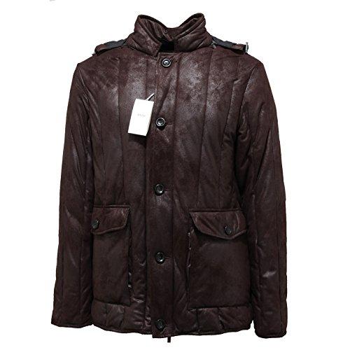 3384M giubbotto uomo marrone ARMANI COLLEZIONI giacche jackets coats men [48]