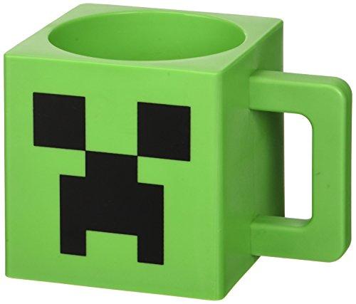 Minecraft Creeper Kunststoff-Gesichts-Becher Minecraft Plastic Creeper Face Mug
