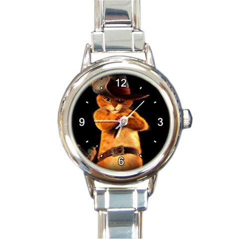 Puss In Boots Animation Custom Design Italian Charm Watch#1 (Italian Puss compare prices)