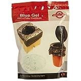 Blue Gel Port-a-Potty Chemicals, Emergency Zone Brand, Liquid Waste Gelling and Deodorizing Powder, Honey Bucket Emergency Toilet Chemicals