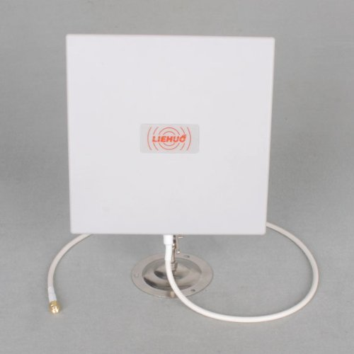 Keedox® Gain 14dbi Directional Panel Antenna kit for WiFi Router 14db+Stand holder+Cable