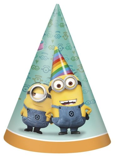 Despicable Me Party Cone Hats - 1