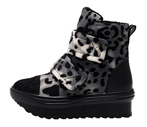 Guciheaven Winter New Style Leopard Grain Casual Shoes(8 B(M)Us, Coffee)