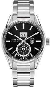 Tag Heuer Carrera Automatic Black Dial Steel Mens Mens Watch WAR5010.BA0723