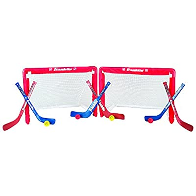 Franklin Sports NHL Mini Hockey Goal Set of 2 by Franklin Sports