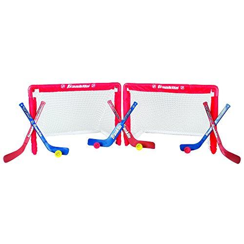 Franklin Sports Nhl Mini Hockey Goal Set Of 2 front-28125