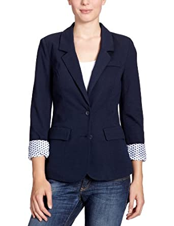 vero moda damen blazer 10079088 new jana sweat blazer gr 36 s blau dark navy. Black Bedroom Furniture Sets. Home Design Ideas