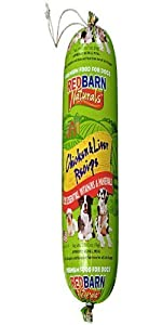 Redbarn Pet Products Chicken and Liver Food Roll, Net Weight 4 lbs (2-Pack)