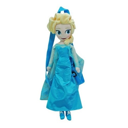 "Disney Frozen Elsa 17"" Plush Backpack - 1"