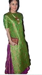Shree Fashion Women's Cotton Unstitched Dress Materials [D1]