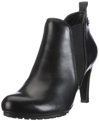 Clarks Womens Kemble Biscuit Boots Black Leather 5 UK