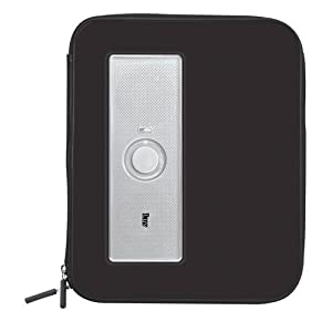 iLuv iSP210BLK Portable Amplified Stereo Speaker Case for iPad, iPad 2, MP3 Player and Tablets - Black