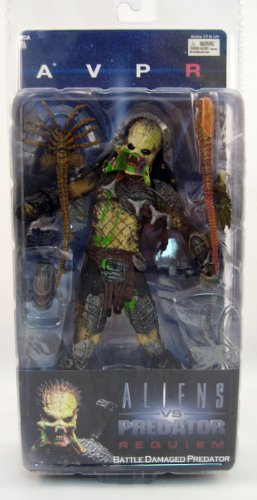 Picture of NECA AVPR series 4 UNMASKED BLOODY PREDATOR 7