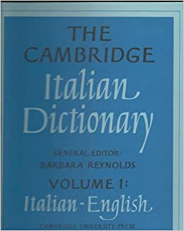 Cambridge Italian dictionary