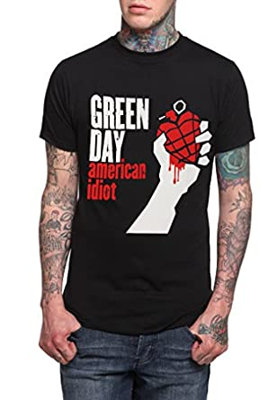 Green Day - American Idiot T-Shirt, schwarz, Grösse XL