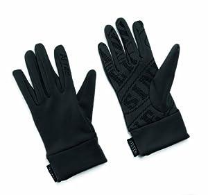 Sinner Huff Stretch Fleece Glove - Black, Small