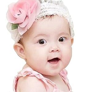 Lace Baby Flower Headbands