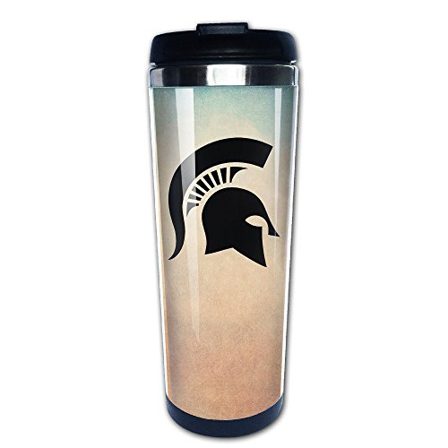 D2 Funny Spartan Head Vacuum Cup - Made Of High Quality 304 Stainless Steel