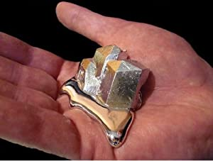Gallium Metal 99.99% Pure 20 Grams 4N