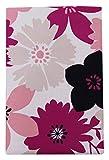 プリント 敷き布団カバー 花柄  シングルサイズ 347532-E342