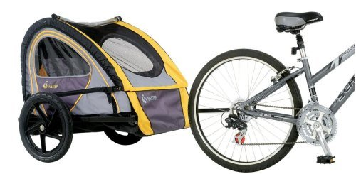 InStep Quick N EZ Bicycle Trailer (Blue/Gray)