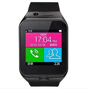 montre intelligente des appels mains libres / con (black): Cell Phones