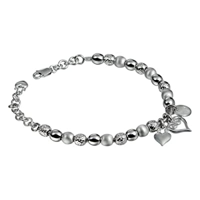Hot Diamonds Mingle Silver and Diamond Bracelet 18.5cm + 3cm