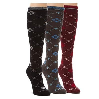 Buy Wigwam Ladies Skyler Knee High 3-pk by Wigwam