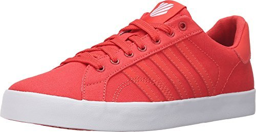 K-Swiss Women's Belmont SO T Sherbet Cayenne/White Canvas Sneaker 8 B (M)