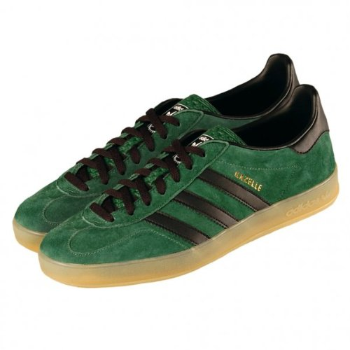 Creyente Frenesí Exclusión  adidas Gazelle Indoor G63198 DARK GREEN,BLACK, GUM | Best Adidas Shoes