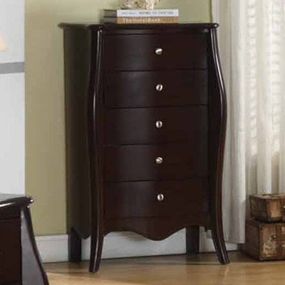 Dark Wood Jewelry Armoire front-1029956