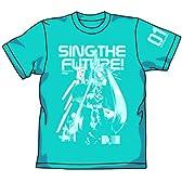 初音ミク 初音ミクグラフィックTシャツ ターコイズブルー:XL