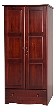 100% Solid Wood Flexible Wardrobe/Arm…
