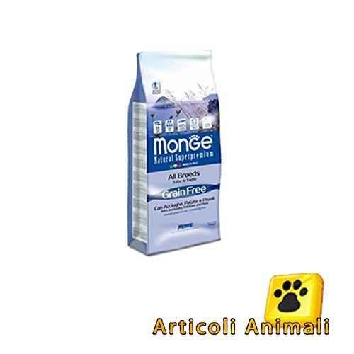 Crocchette cane gain free acciughe patate e piselli 15 kg no cereli