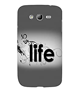 printtech Life Quote Back Case Cover for Samsung Galaxy Grand i9080:::Samsung Galaxy Grand i9082