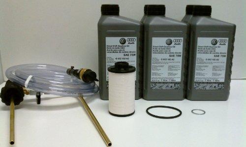 Oem Vw Audi Vag Dsg Fluid Change Service Kit With Filling Tool Vas6262A