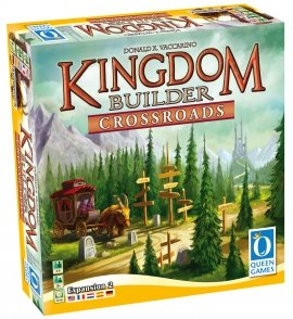 Queen Games 61081 – Kingdom Builder Erweiterung 2: Crossroads, Brettspiel